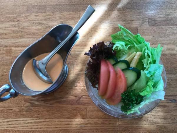 いわき市植田でランチやディナーに人気のグリル越田和でガーリックハンバーグ