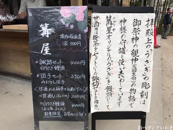 福島県いわき市小川町小川諏訪神社のしだれ桜16