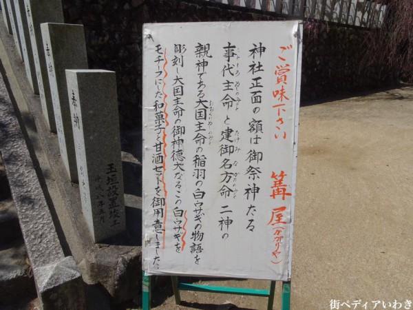 福島県いわき市小川町小川諏訪神社のしだれ桜5
