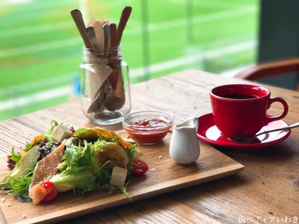 いわきFCパーク(福島県いわき市)のRED&BLUE CAFE14