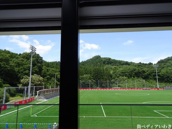 いわきFCパーク(福島県いわき市)のRED&BLUE CAFE4