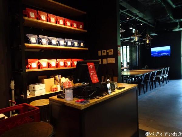 いわきFCパーク(福島県いわき市)のRED&BLUE CAFE1