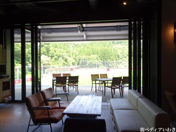 いわきFCパーク(福島県いわき市)のRED&BLUE CAFE2
