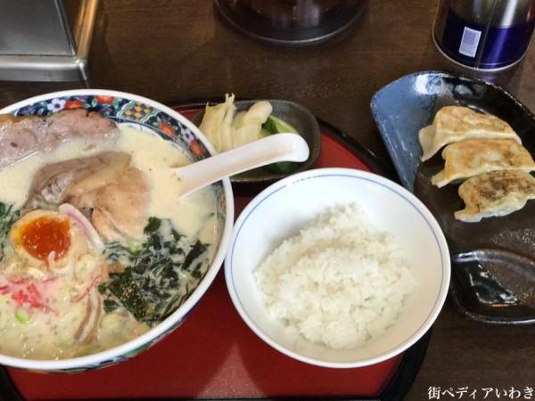 ラーメン大喜(だいき)福島県いわき市平中神谷5