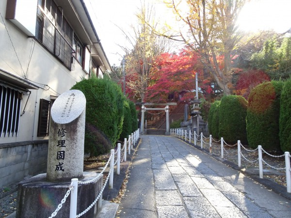 いわき市湯本の温泉神社-181128-7