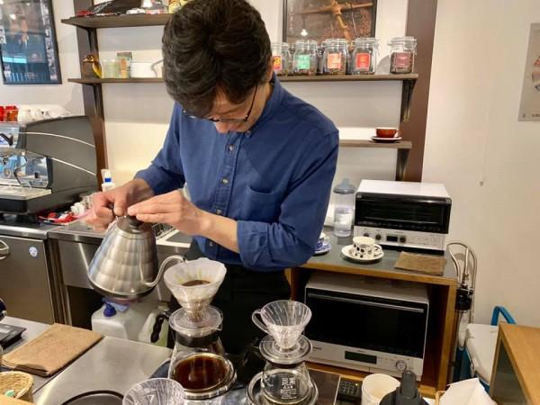 いわき市内郷のサザコーヒーONE-OFF Coffee チーズケーキの店や磐城一高近く-191003-4