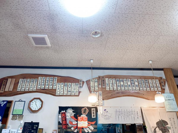 福島県塙町のお食事処旭屋でランチを食べてきました。ラーメンや丼物や定食やお酒も楽しめます-201014