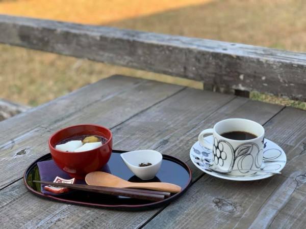 いわき市小川町の草野心平記念文学館のカフェ-201118-1