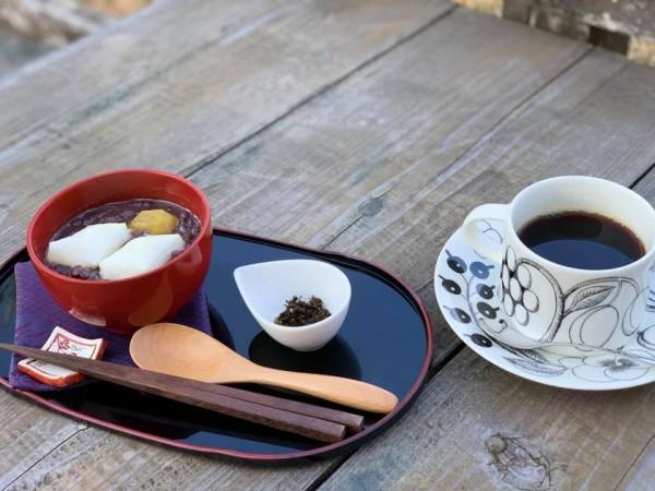 いわき市小川町の草野心平記念文学館のカフェ-201118-4