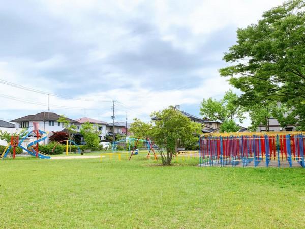 いわき市植田近くの迷路のある三ヶ下公園は子供が遊べる公園-210620-13