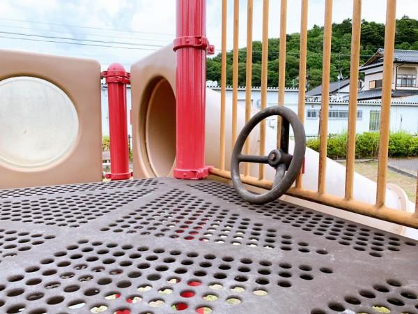 いわき市植田近くの東田大町公園で子供が遊べる公園-210620-7