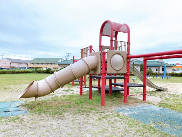 いわき市植田近くの東田大町公園で子供が遊べる公園-210620-9