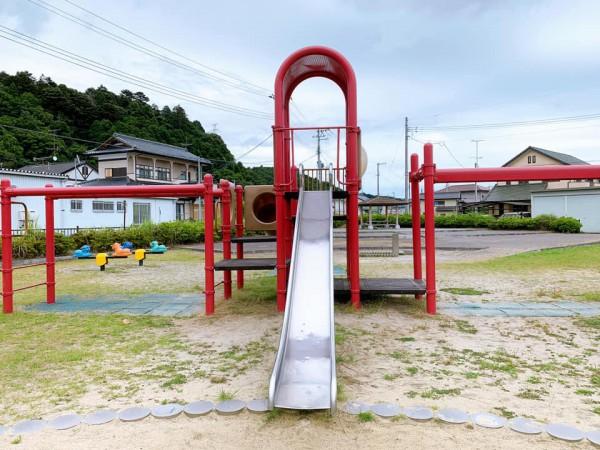 いわき市植田近くの東田大町公園で子供が遊べる公園-210620-2