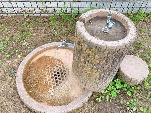 いわき市植田近くの迷路のある三ヶ下公園は子供が遊べる公園-210620-7