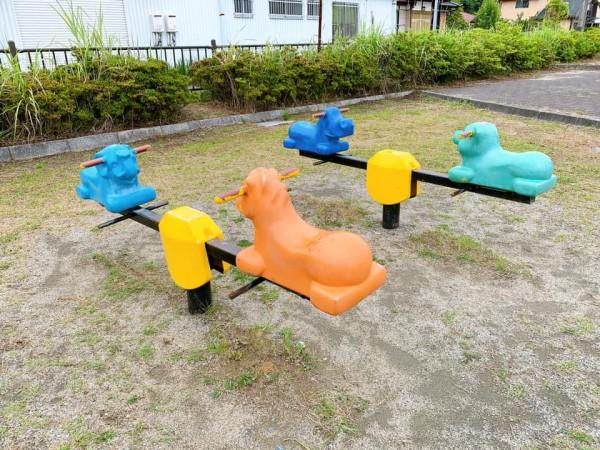 いわき市植田近くの東田大町公園で子供が遊べる公園-210620-3