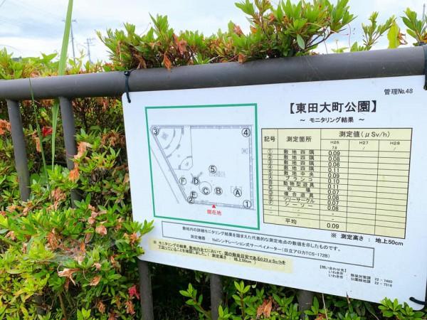 いわき市植田近くの東田大町公園で子供が遊べる公園-210620-1