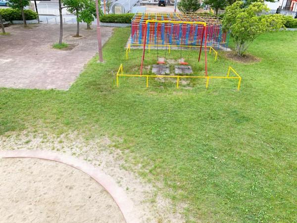 いわき市植田近くの迷路のある三ヶ下公園は子供が遊べる公園-210620-11