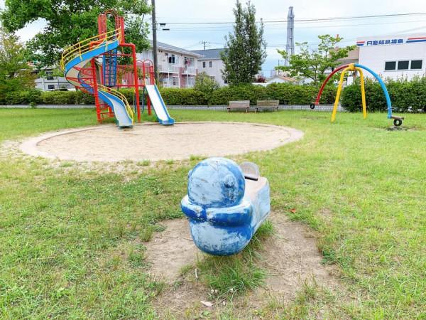 いわき市植田近くの迷路のある三ヶ下公園は子供が遊べる公園-210620-3
