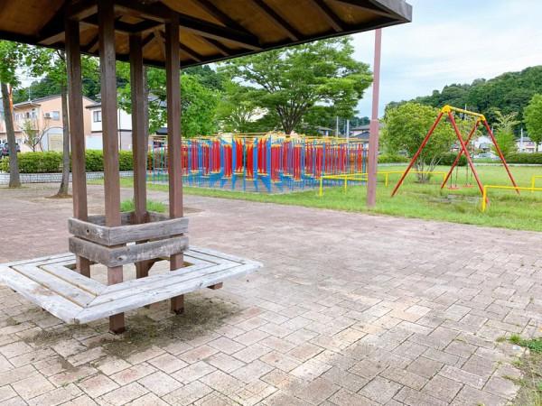 いわき市植田近くの迷路のある三ヶ下公園は子供が遊べる公園-210620-12