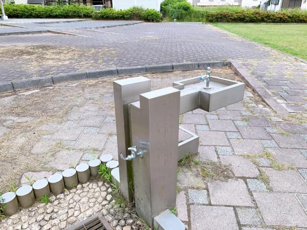 いわき市植田近くの東田大町公園で子供が遊べる公園-210620-10