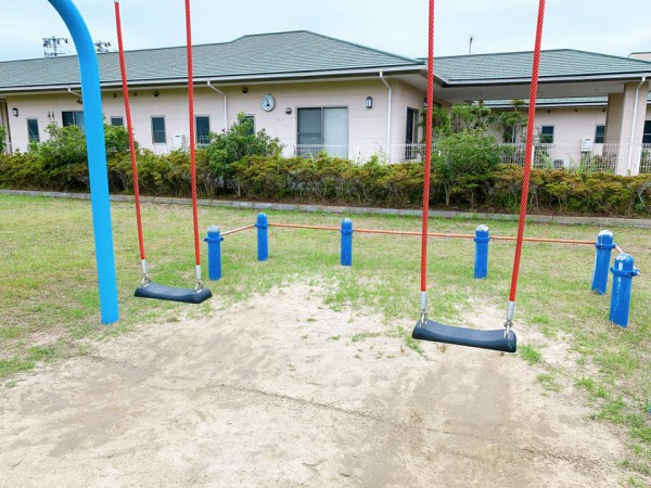 いわき市植田近くの東田大町公園で子供が遊べる公園-210620-5