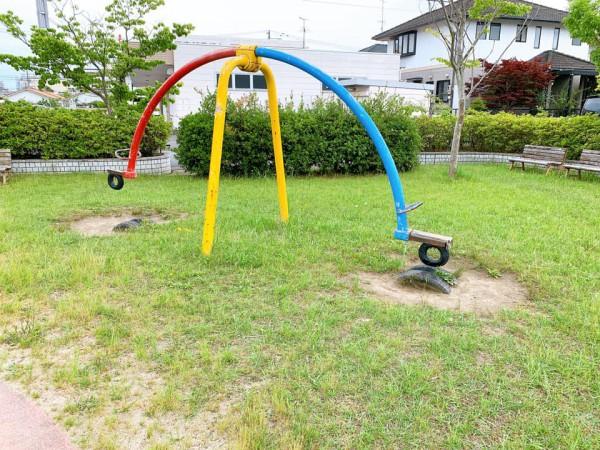 いわき市植田近くの迷路のある三ヶ下公園は子供が遊べる公園-210620-4