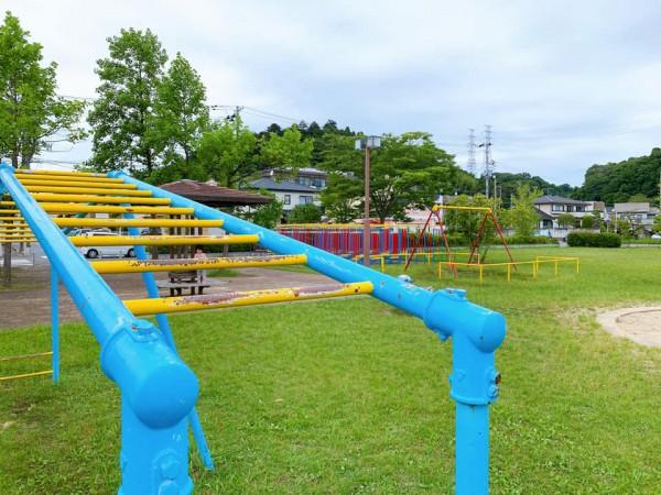 いわき市植田近くの迷路のある三ヶ下公園は子供が遊べる公園-210620-15