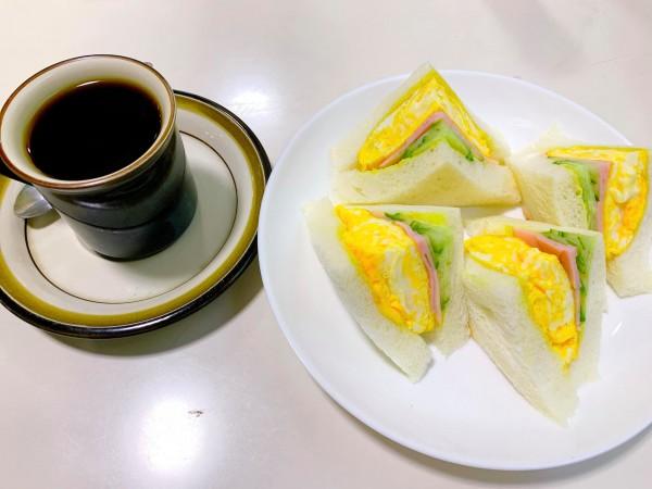 福島県いわき市の喫茶店オフィスでモーニングいわき市平-210910-5
